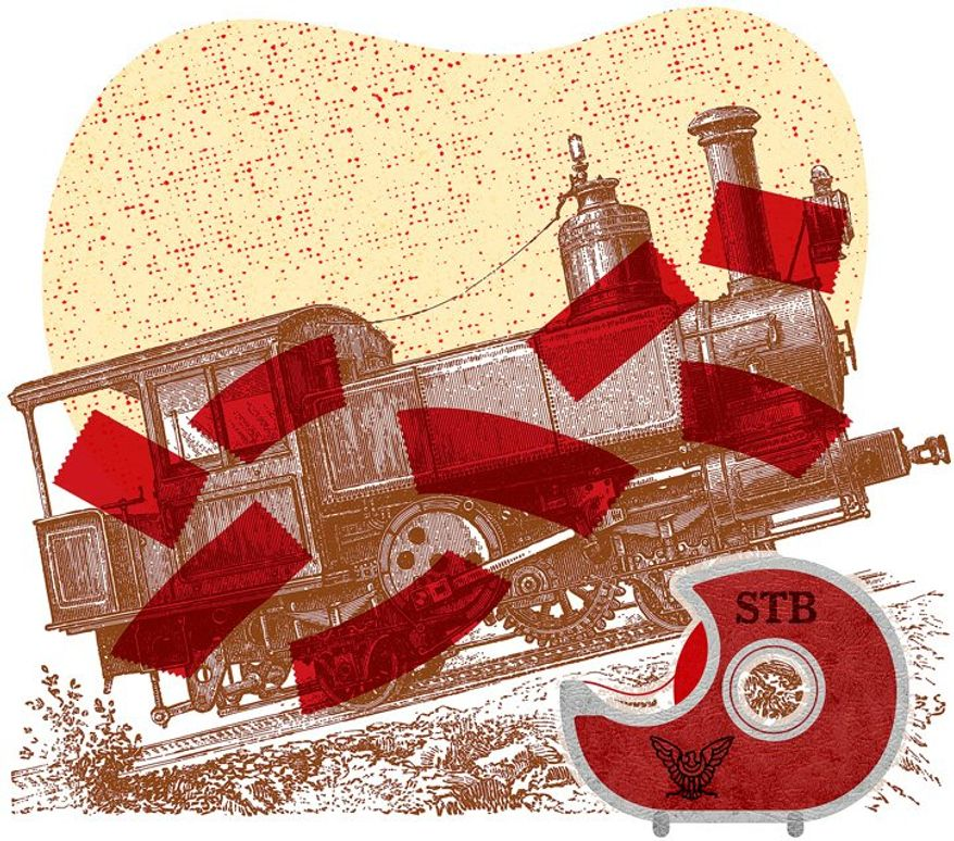 Transportation Red Tape Illustration by Greg Groesch/The Washington Times