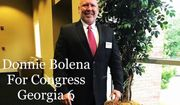 "Donnie Bolena, a Republican congressional candidate in Georgia, has dropped out of the race amid backlash for calling himself a ""proud white nationalist."" (bolenaforcongress.com)"