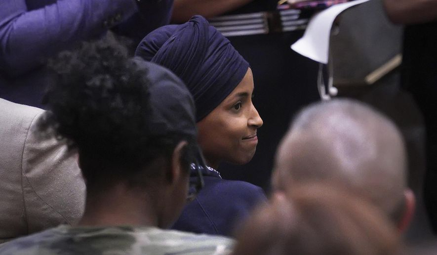 Ilhan Omar: Just think, sharia stones to death for adultery
