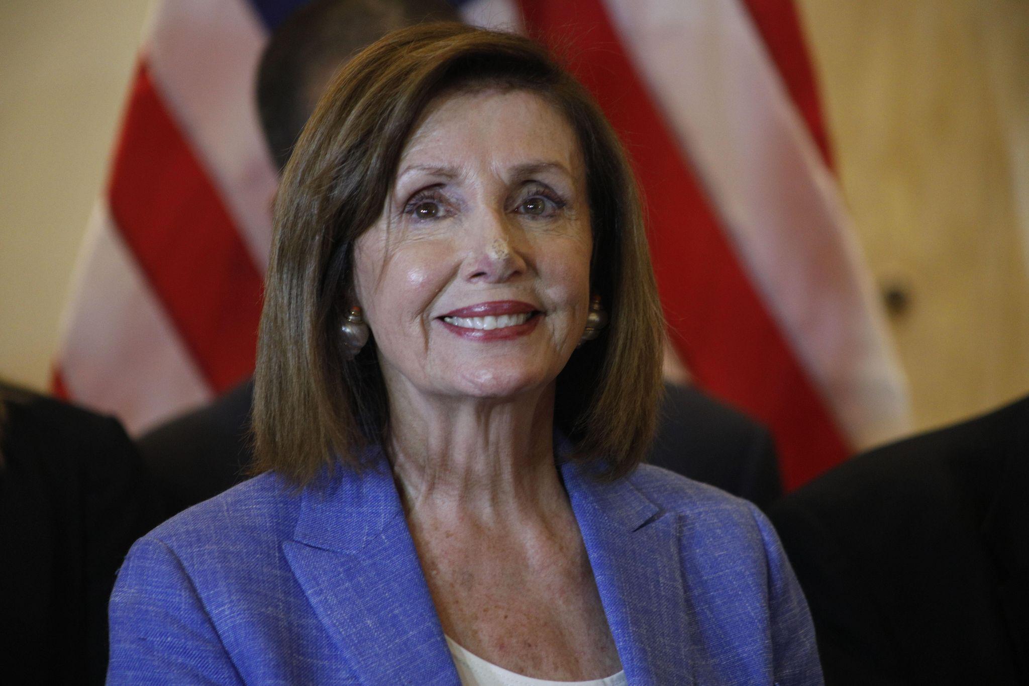Pelosi emerges as alternative ambassador in bid to 'present the best face of America'