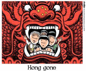 Hong gone
