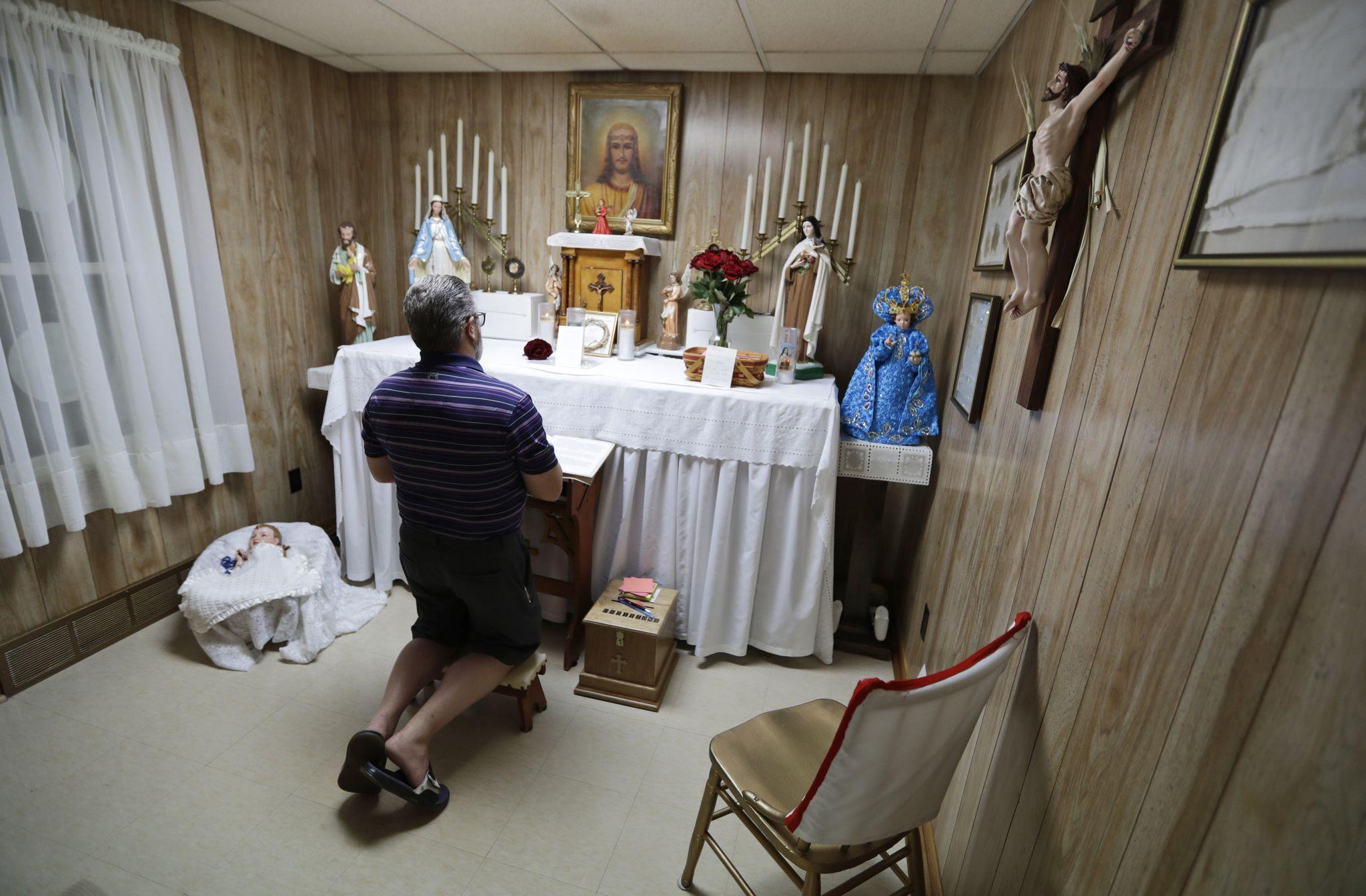 Ohio 'miracle house' draws pilgrims amid sainthood push