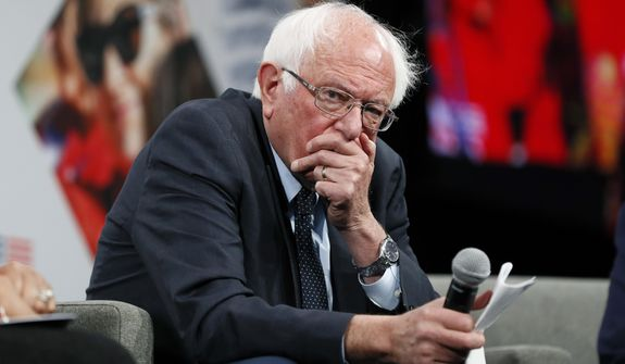 Democratic presidential candidate Bernard Sanders billed his criminal justice reform proposal as an appeal to black voters, who make up a massive chunk of the state's Democratic primary voters. (Associated Press/File)