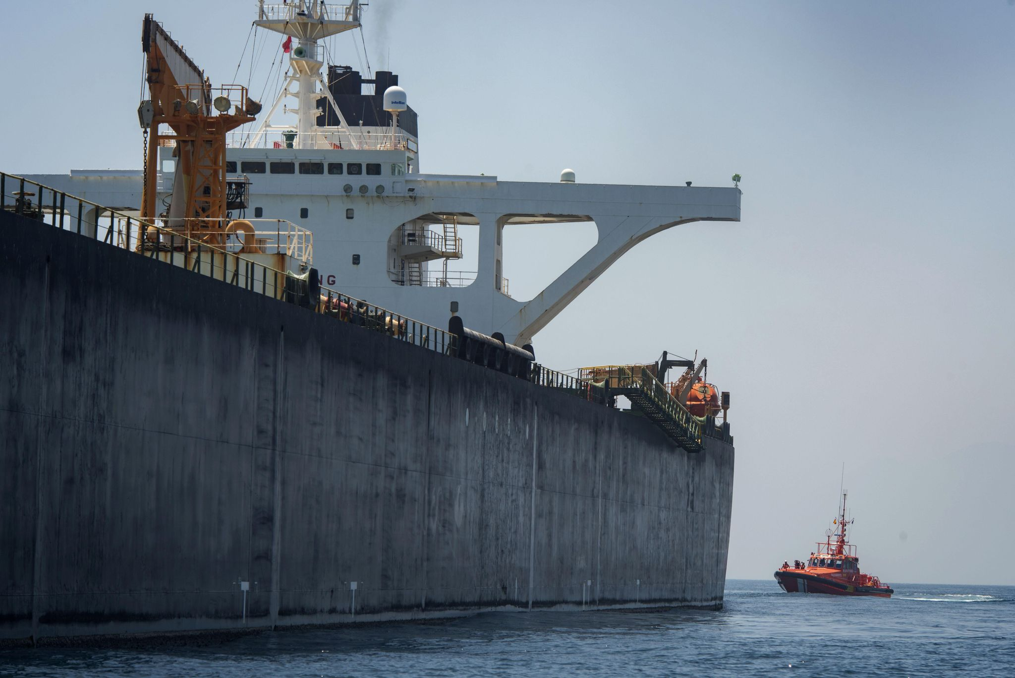 Gibraltar rejects U.S. request to hold Iran supertanker