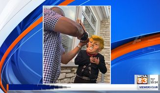 Democratic state Sen. Martin Sandoval apologized Sunday after photos from one of his political fundraisers that surfaced on social media showed a mock assassination of President Trump. (WCIA)