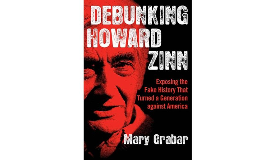 'Debunking Howard Zinn' (book jacket)