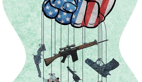 Mandatory Confiscation Illustration by Greg Groesch/The Washington Times