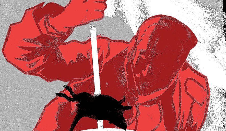 Heroic Deeds Illustration by Linas Garsys/The Washington Times