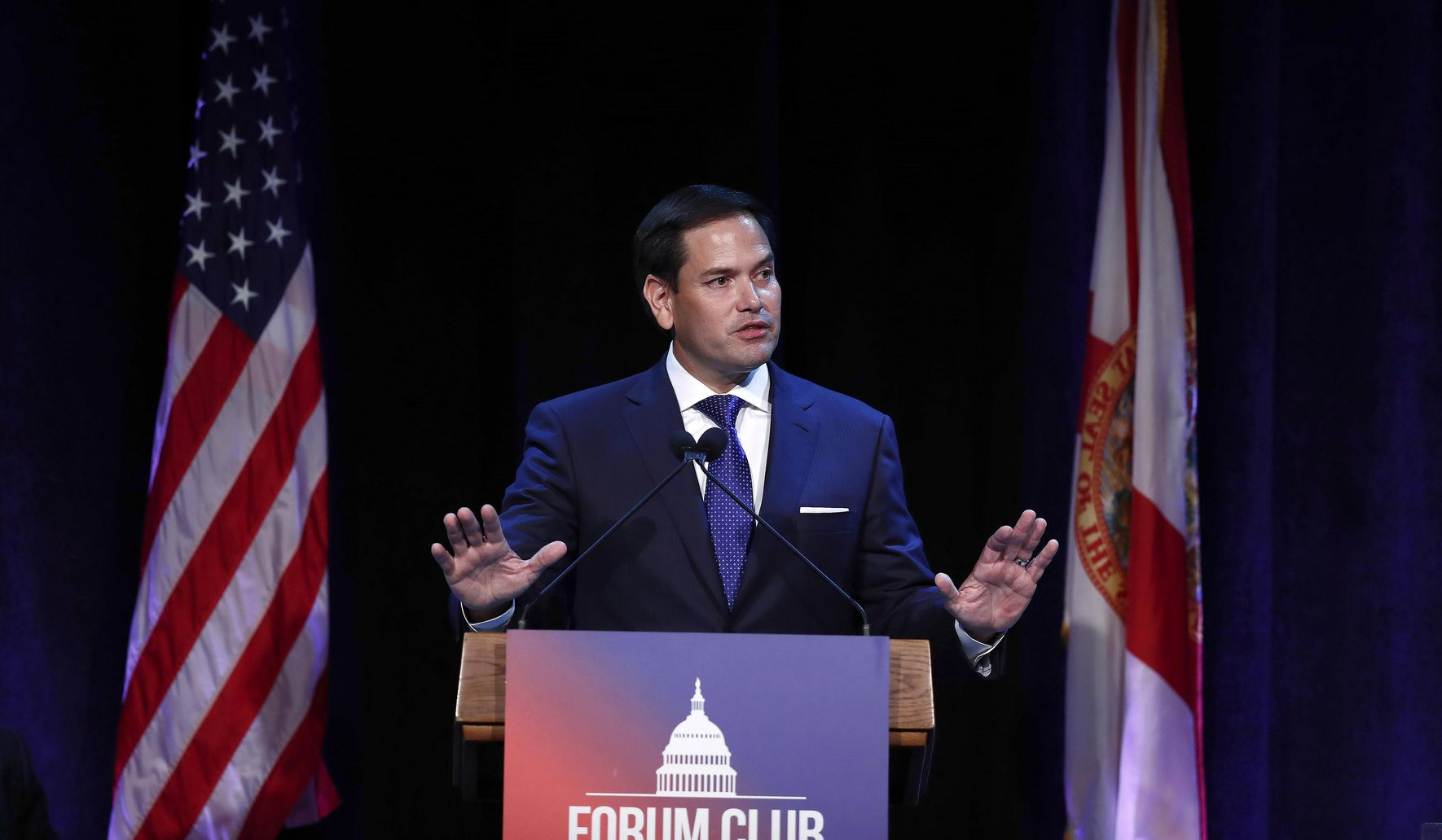 Marco Rubio calls for compromise, bipartisanship in politics