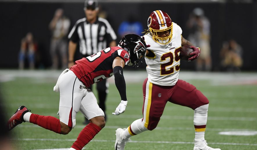 2459fc2e Redskins-Falcons takeaways: Jordan Reed in concussion protocol ...