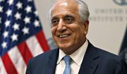 Special Representative for Afghanistan Reconciliation Zalmay Khalilzad smiles at the U.S. Institute of Peace, in Washington. (AP Photo/Jacquelyn Martin, File)
