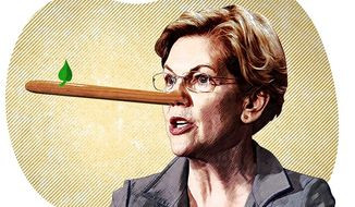 Pinocchio Warren Illustration by Greg Groesch/The Washington Times