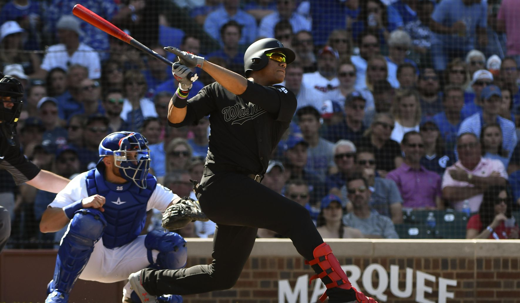 Sánchez blanks Cubs, Nats keep slugging in 9-3 win