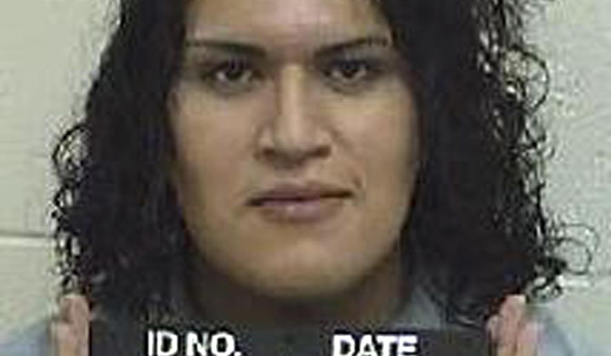 FILE - This Dec. 10, 2014, file photo provided by the Idaho Department of Correction shows Adree Edmo. A federal appeals says Idaho must provide gender confirmation surgery to Edmo, who has been living as a woman for years but who has continuously been housed in a men's prison. The 9th U.S. Circuit Court of Appeals on Friday, Aug. 23, 2019, agreed with a federal judge in Idaho that the state's denying the surgery for Edmo amounted to cruel and unusual punishment, a violation of the U.S. Constitution. (Idaho Department of Correction via AP, File)