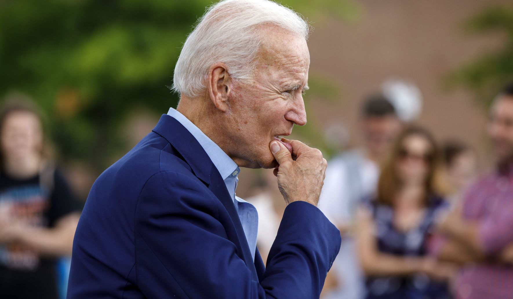 Biden calls racism a 'white man's problem,' touts search for woman 'of color' as running mate