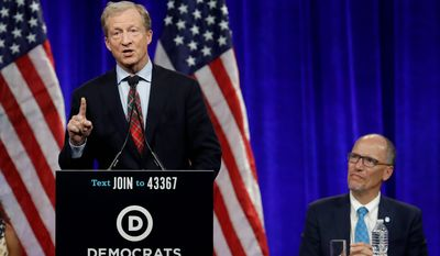 Billionaire Tom Steyer's campaign echoed the Gabbard campaign's complaints about what polls the DNC uses and considers to be certified.