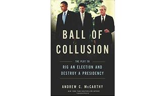 'Ball of Collusion' (book jacket)