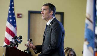 Gov. Ralph Northam took the action Monday anticipating the storm would begin being felt in southeastern Virginia on Thursday. (Stephanie Klein-Davis/The Roanoke Times via AP)