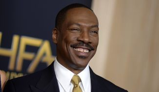 This Nov. 6, 2016 file photo shows Eddie Murphy at the 20th annual Hollywood Film Awards in Beverly Hills, Calif.  (Photo by Richard Shotwell/Invision/AP, File)