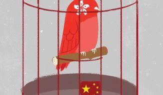 Hong Kong illustration by Linas Garsys