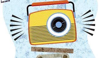 Long Live Radio Illustration by Greg Groesch/The Washington Times