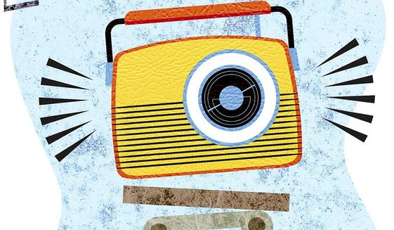 Long Live Radio Illustration by Greg Groesch/The Washington Times