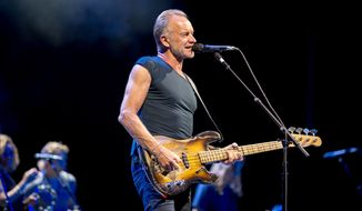 Sting at Wolf Trap's Filene Center in Vienna, VA. (Photograph courtesy Abe Landes / Wolf Trap)