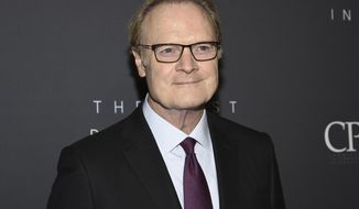 "FILE - This April 11, 2019 file photo shows MSNBC host Lawrence O'Donnell at The Hollywood Reporter's annual Most Powerful People in Media cocktail reception in New York. O'Donnell says he made an ""error in judgment"" in reporting a story about President Donald Trump's finances based on a single source. O'Donnell's tweet on Wednesday came after a lawyer for Trump said the story was false and defamatory, and called for NBC News to apologize and retract it. (Photo by Evan Agostini/Invision/AP, File)"
