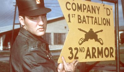 Elvis Presley was drafted in December 1957. He was stationed in Fort Hood, Texas before moving to 1st Medium Tank Battalion, 32d Armor in Friedberg, Germany