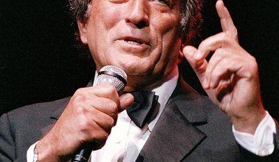 "Singer Tony Bennett was drafted into Army in 1944 and was placed in the ""Blood and Fire"" division in Germany and France"