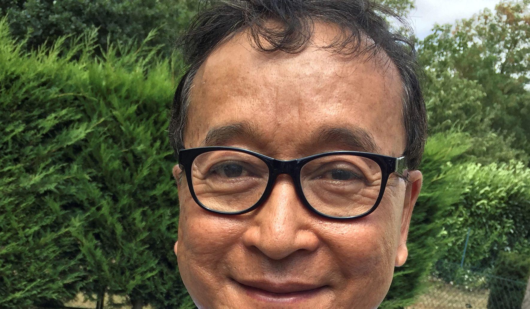 Rainsy's vow to return to Cambodia reignites rivalry with Hun Sen