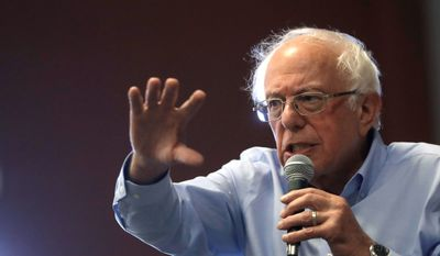 Sen. Bernard Sanders is one of the front-runners for the Democratic presidential nomination. He qualified for the next debate on Sept. 12. (Associated Press)