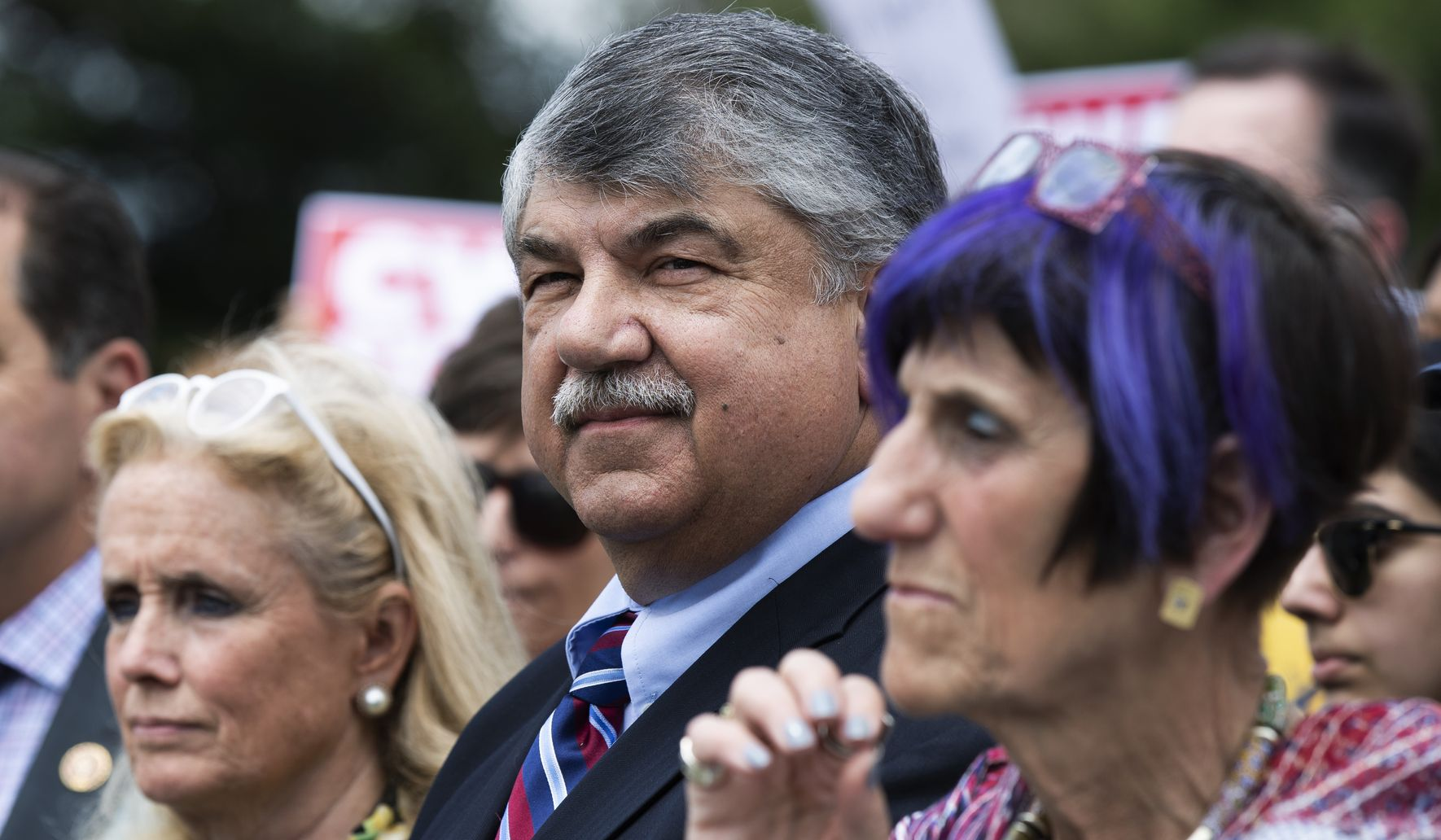 Revved-up outreach: AFL-CIO union president vows to beat back Trump's gains with workers