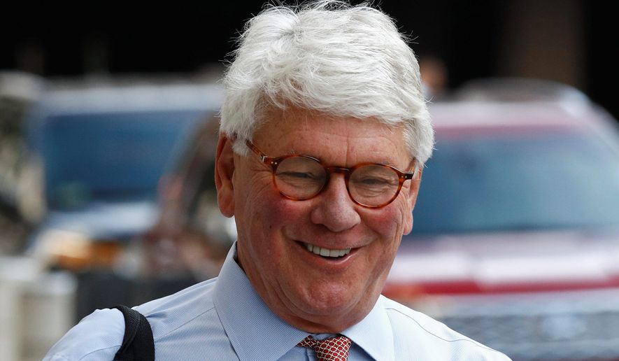 Greg Craig, former White House counsel to President Obama, is accused of lying to Justice Department investigators. (Associated Press)