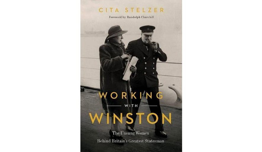 'Working With Winston' (book jacket)