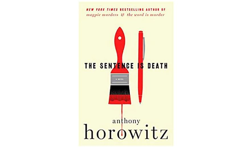 'The Sentence is Death' (book jacket)