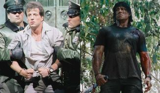 "Sylvester Stallone stars in ""Lock Up"" and ""Rambo."" Both are now available on 4K Ultra HD from Lionsgate Home Entertainment."