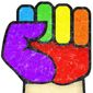 Gay Glove Illustration by Greg Groesch/The Washington Times