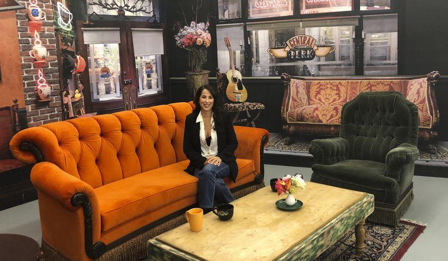 Friends' pop-up lets sitcom's fans explore show's key props