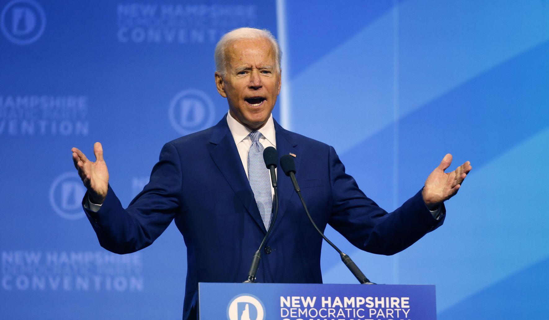 photo image Joe Biden leads Elizabeth Warren by 10 points in Texas: Poll