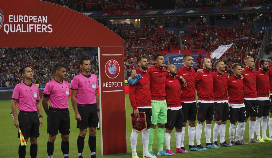 Macron apologizes to Albania on wrong anthem at soccer game
