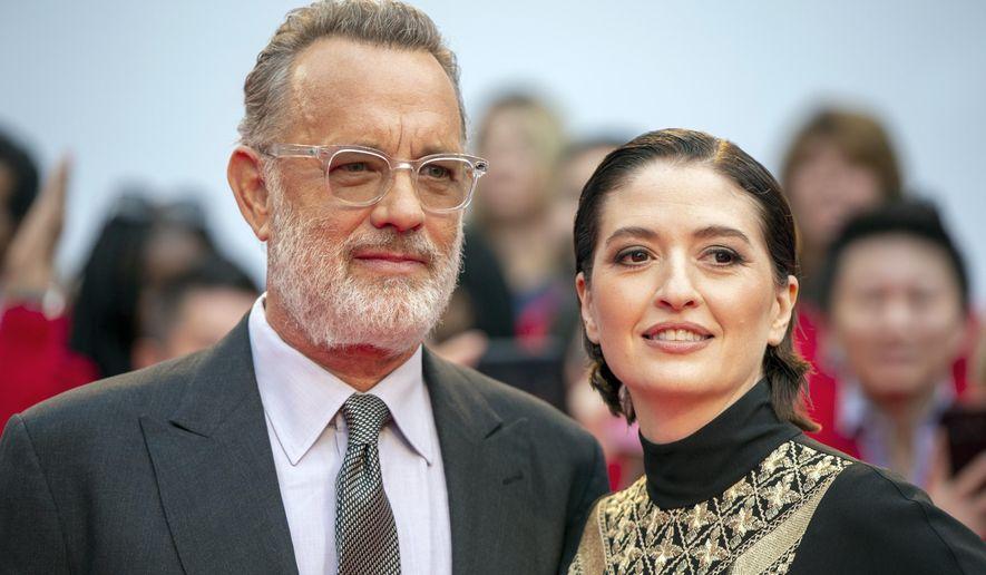 Tom Hanks Unveils His Mr Rogers At Toronto Film Festival Washington Times