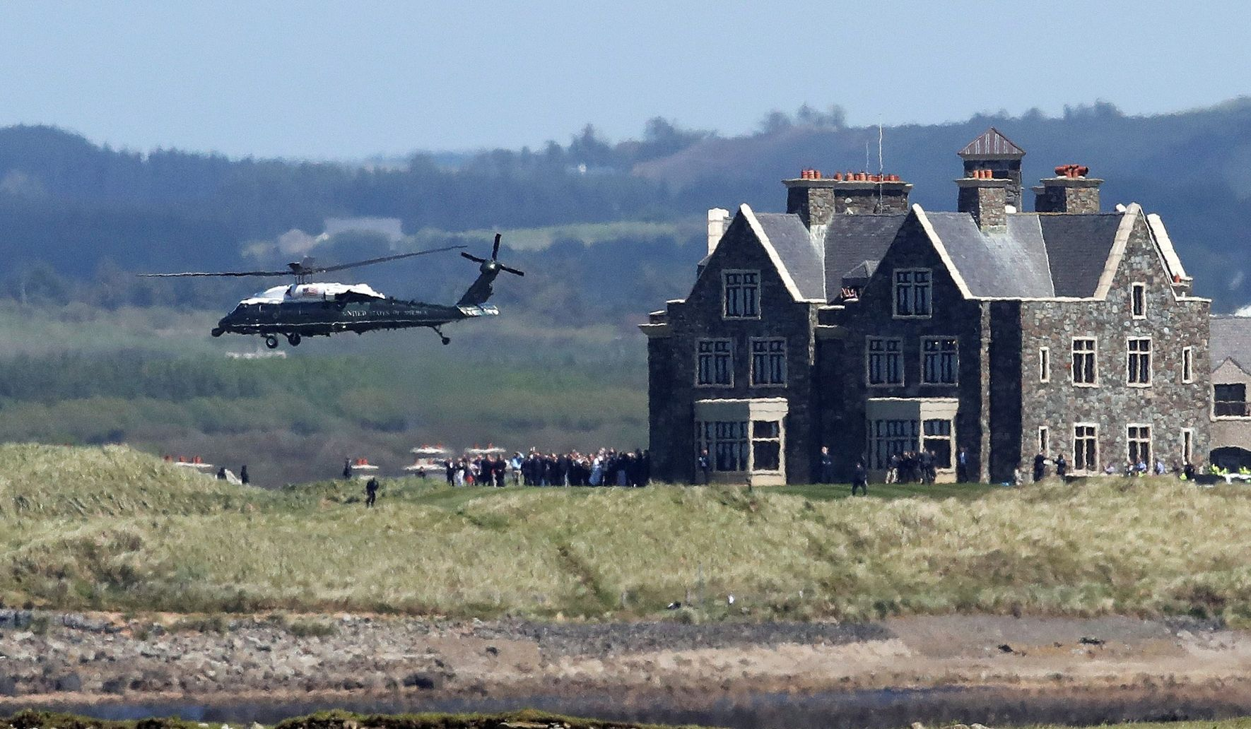 A New Congress Time For New Focus On >> Mike Pence Doonbeg Stay Focus Of Trump Investigation By