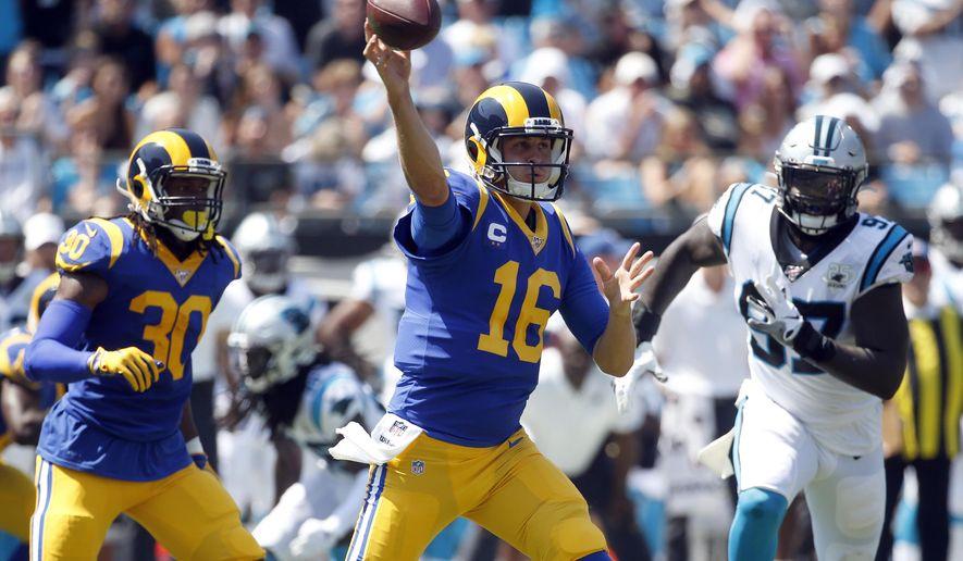 Rams Vs Saints Highlights Nfl S Second Sunday Of Season