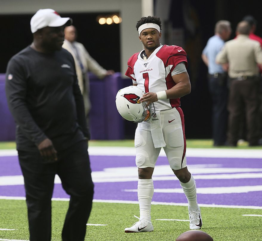 1. Kyler Murray, Arizona Cardinals, 5'10""