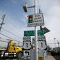 According to data from the National Coalition of State Legislatures, red-light cameras are used in 23 states and the District of Columbia for traffic enforcement. At least 11 states have banned them after expressing dissatisfaction over their effectiveness. (ASSOCIATED PRESS)