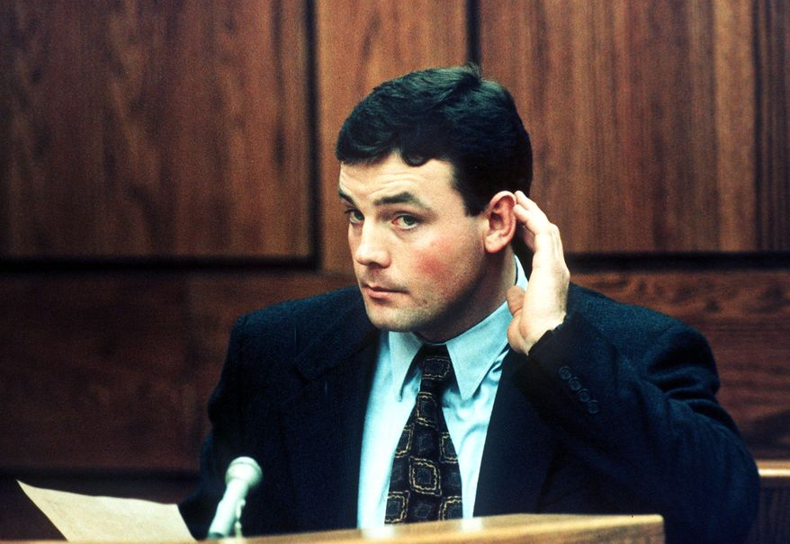 John Bobbitt became notorious in the mid-1990s after his wife Lorena cut off his penis and the attack became a national tabloid story. He has company now from a North Carolina man, whose wife his been locked up this week on similar charges. (Associated Press)