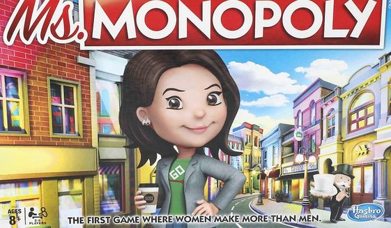 Hasbro will release Ms. Monopoly to major retailers in September 2019. (Image: Hasbro Gaming via Walmart.com pre-order landing page)