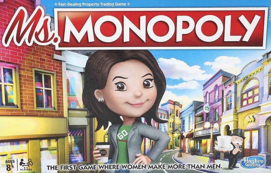 Hasbro will release Ms. Monopoly to major retailers in September 2019. (Image: Hasbro Gaming via Walmart.com pre-order landing page)