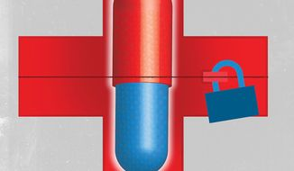 Drug Availability Illustration by Linas Garsys/The Washington Times